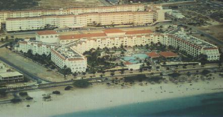 Resort aerial photo
